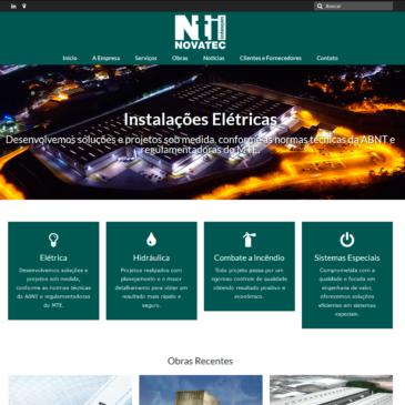 Novatec lança seu novo website na Internet
